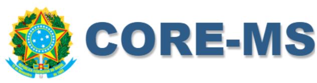 CORE-MS – Próxima sexta-feira será divulgado os locais de prova